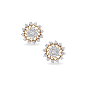 pid earings earrings bloomy jewellery studs diamond products