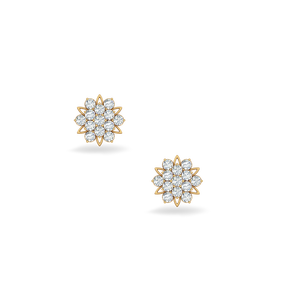 Diamond Earrings Online In India 100 Certified Gold And Kirtilals