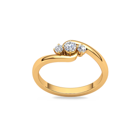 Buy Diamond Rings Online In India | 100% Certified Gold And Diamond Rings |  Kirtilals